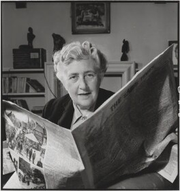 Agatha Christie, by John Gay - NPG x126501