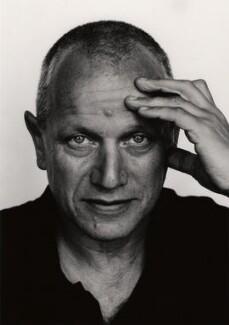 Steven Berkoff, by Mark Tillie, 1980s - NPG x35170 - © Mark Tillie