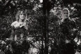 Niamh Cusack; Cyril James Cusack, by Mark Tillie - NPG x35171