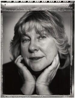 Fay Weldon, by Mark Tillie - NPG x35174