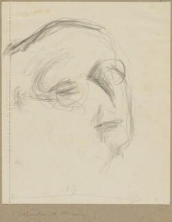 Salvador de Madariaga, by Henryk Gotlib - NPG D13586