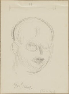 John Dos Passos, by Henryk Gotlib - NPG D13587