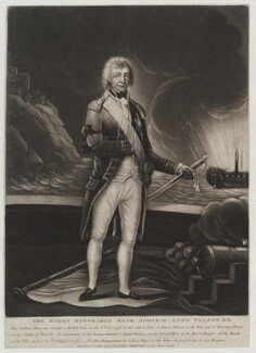 Horatio Nelson, published by Robert Laurie, published by  James Whittle - NPG D19423