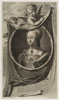 Lady Jane Grey, by Cornelis Martinus Vermeulen, after  Adriaen van der Werff - NPG D19425