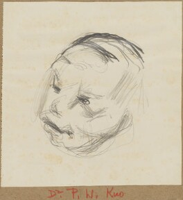 Vi Kyuin Wellington Koo, by Henryk Gotlib - NPG D13589