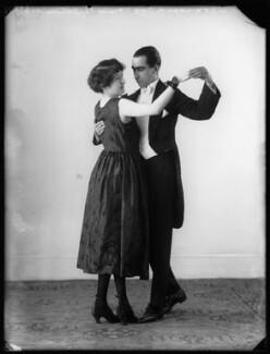 Maude Gibson; Clifford Gordon Vandyck, by Bassano Ltd - NPG x103200