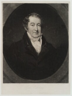 George Colman the Younger, by Thomas Goff Lupton, after  John Jackson - NPG D19455