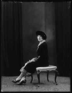 Josephine Victor, by Bassano Ltd - NPG x103207