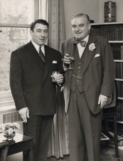 Ronnie Kray; Robert John Graham Boothby, Baron Boothby, by Unknown photographer - NPG x126471