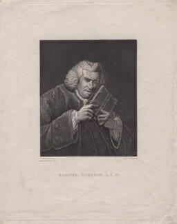 Samuel Johnson, by Ignace Joseph de Claussen, after  Sir Joshua Reynolds - NPG D16487