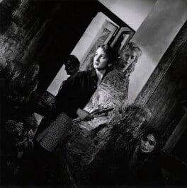 Emma Sergeant, by Mike Owen, 1982 - NPG x126483 - © Mike Owen / National Portrait Gallery, London