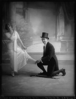 Ethel Oliver; Bay Russell, by Bassano Ltd, 20 July 1912 - NPG x103427 - © National Portrait Gallery, London