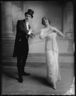 Bay Russell; Ethel Oliver, by Bassano Ltd, 20 July 1912 - NPG x103430 - © National Portrait Gallery, London