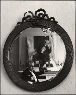 Felix Aprahamian, by Pete Wicker, 1970s-1980s - NPG x47290 - © Pete Wicker