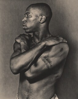 Ian Wright, by Robert Wilson - NPG x88078