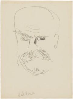 John Burdon Sanderson Haldane, by Henryk Gotlib - NPG D13600