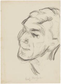 Lancelot Thomas Hogben, by Henryk Gotlib - NPG D13606