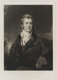 Frederick John Robinson, 1st Earl of Ripon, by Charles Turner, published by  George Lawford, after  Sir Thomas Lawrence, published 24 May 1824 (circa 1823) - NPG D19466 - © National Portrait Gallery, London
