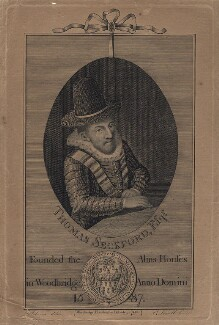 Thomas Seckford, by S. Lowell, published by  Robert Loder, after  J. Johnson - NPG D16517