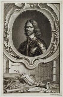 Henry Ireton, by Jacobus Houbraken, published by  John & Paul Knapton, after  Samuel Cooper - NPG D19476