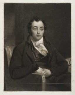 Henry Richard Fox (later Vassall), 3rd Baron Holland, by Samuel William Reynolds, after  John Raphael Smith - NPG D19479