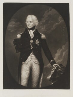 Horatio Nelson, by A. Geiger, after  Lemuel Francis Abbott - NPG D19494