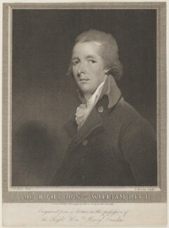 William Pitt, by Charles Brome, after  William Owen, published 1799 - NPG  - © National Portrait Gallery, London