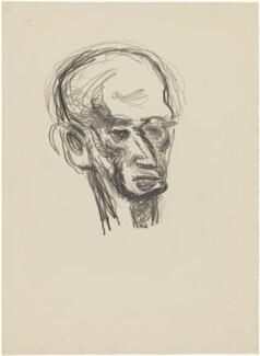 Probably (Benjamin) Ifor Evans, Baron Evans of Hungershall, by Henryk Gotlib - NPG D13619