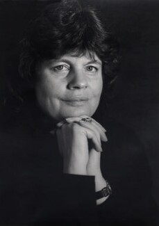 A.S. Byatt, by Tara Heinemann - NPG x30984