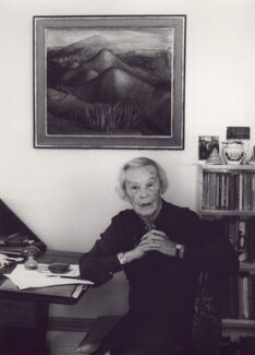 Frances Partridge, by Tara Heinemann - NPG x30991