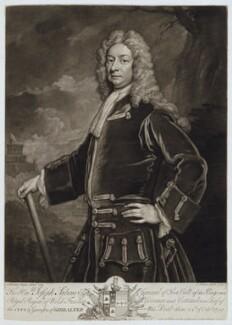 Joseph Sabine, by and published by John Faber Jr, after  Sir Godfrey Kneller, Bt - NPG D19526