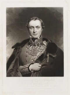 Henry Hardinge, 1st Viscount Hardinge of Lahore, by and published by Charles Turner, published by  Colnaghi, Son & Co, after  Eden Upton Eddis - NPG D19531