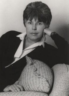 Ruth Rendell, by Tara Heinemann - NPG x30993