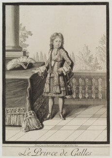 Prince James Francis Edward Stuart, by and published by Antoine Trouvain - NPG D19540
