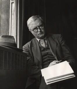 Sir Denis William Brogan, by John Gay - NPG x126567
