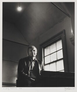 Lindsay Anderson, by Jorge ('J.S.') Lewinski, April 1970 - NPG P1042 - © National Portrait Gallery, London