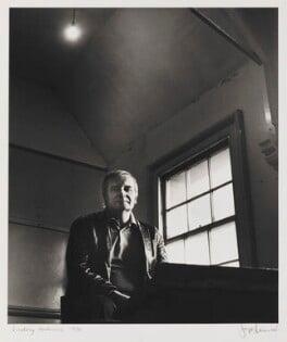 Lindsay Anderson, by Jorge ('J.S.') Lewinski, April 1970 - NPG P1042 - © National Portrait Gallery, London