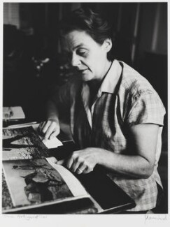 Clare Hollingworth, by J.S. Lewinski - NPG P1048