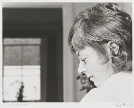 Geraldine McEwan, by J.S. Lewinski - NPG P1053