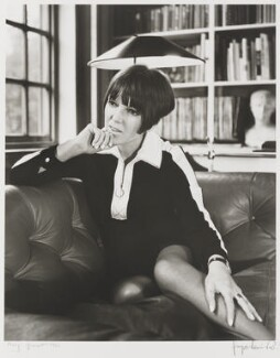 Dame Mary Quant, by Jorge ('J.S.') Lewinski, June 1966 - NPG  - © National Portrait Gallery, London