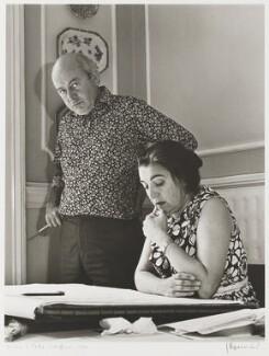 Alison Smithson; Peter Smithson, by J.S. Lewinski - NPG P1062