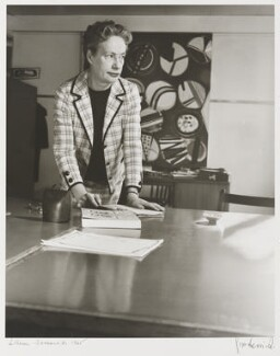 (Katherine) Lilian Somerville (née Tillard), by J.S. Lewinski - NPG P1063