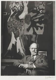 Sir Basil Urwin Spence, by J.S. Lewinski - NPG P1064