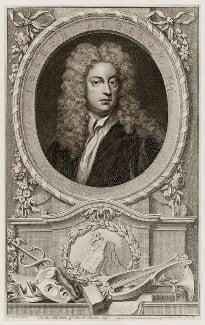 Joseph Addison, by Jacobus Houbraken, published by  John & Paul Knapton, after  Sir Godfrey Kneller, Bt - NPG D19551