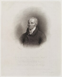 Sir Astley Paston Cooper, 1st Bt, by John Alais, published by  Hurst, Robinson & Co, after  Joseph William Rubidge - NPG D19560