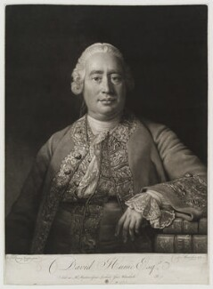 David Hume, by and published by David Martin, after  Allan Ramsay - NPG D19565