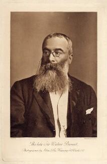 Sir Walter Besant, by Elliott & Fry, printed by  Allen & Co - NPG x126490
