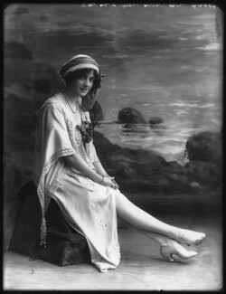 Olive May (née Olive Mary Meatyard), Countess of Drogheda as Doris Bartle in 'Peggy', by Bassano Ltd - NPG x101989