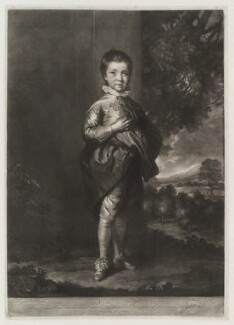Jacob Pleydell-Bouverie, 2nd Earl of Radnor, by James Macardell, after  Sir Joshua Reynolds - NPG D19595