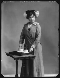 Gertrude Scott (later McKinnell), by Bassano Ltd - NPG x103583
